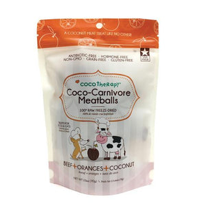 Coco-Carnivore Meatballs - Rocky & Maggie's Pet Boutique and Salon