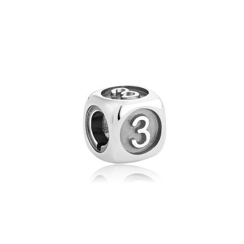 Numbers - 3 Bead - Rocky & Maggie's Pet Boutique and Salon