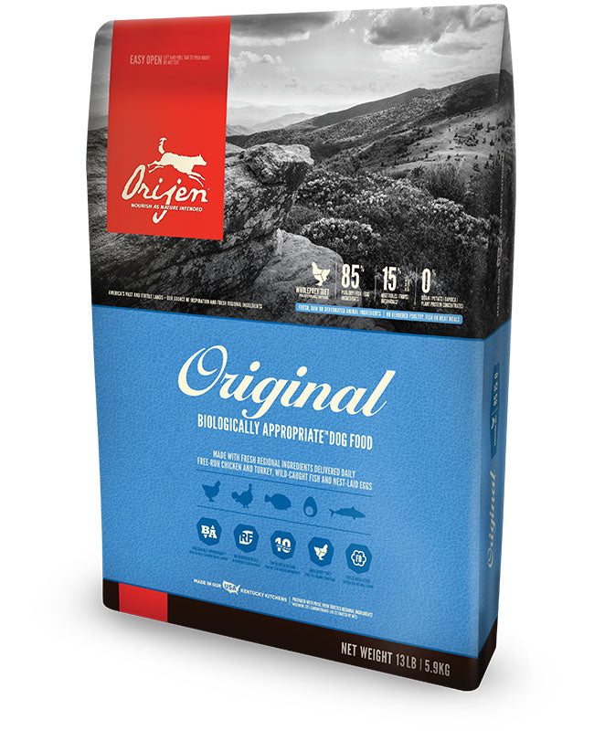 Orijen Original Dog food - Rocky & Maggie's Pet Boutique and Salon