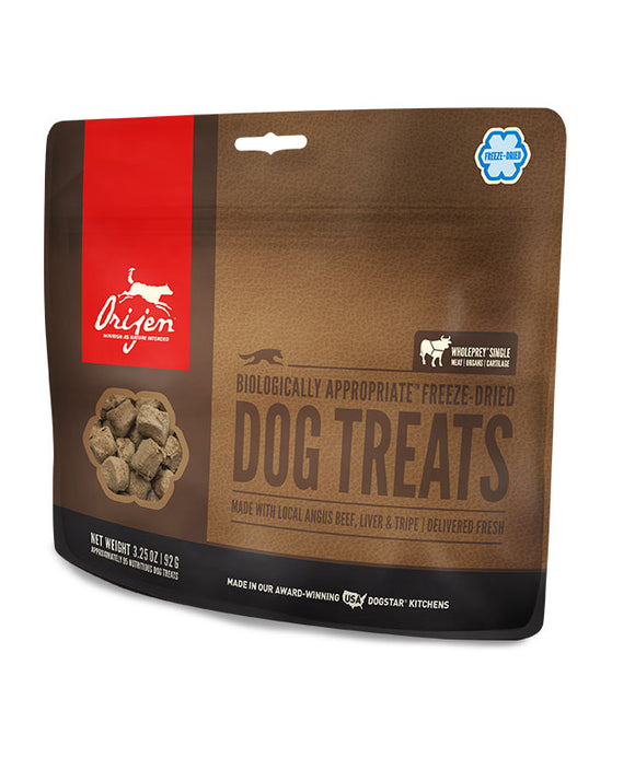 Orijen Freeze-Dried Black Angus Beef Dog Treats