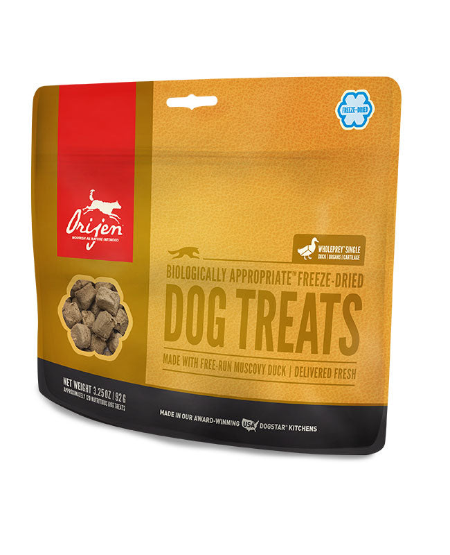 Orijen Freeze-Dried Duck Dog Treats