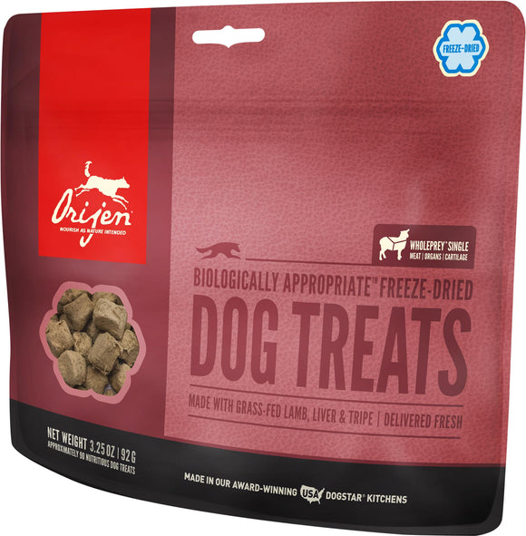 Orijen Freeze-Dried Grass Fed Lamb Dog Treats