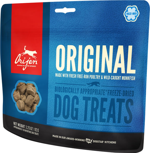 Orijen Freeze-Dried Original Dog Treats - Rocky & Maggie's Pet Boutique and Salon