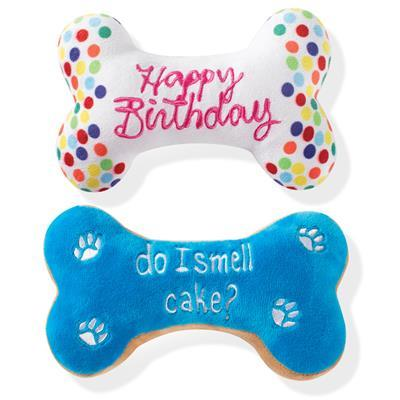 Birthday Bone Cookies Pet Toys - Rocky & Maggie's Pet Boutique and Salon