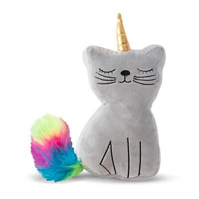 Caticorn Plush Dog Toy - Rocky & Maggie's Pet Boutique and Salon