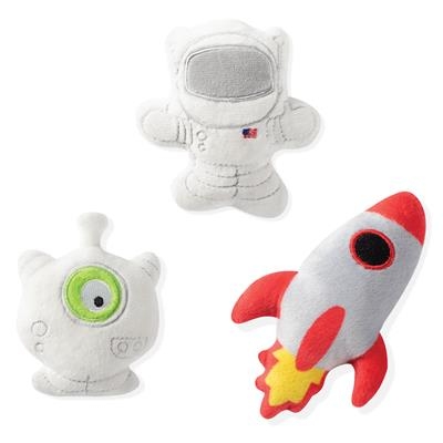 Space 3pc Small Dog Toy Set