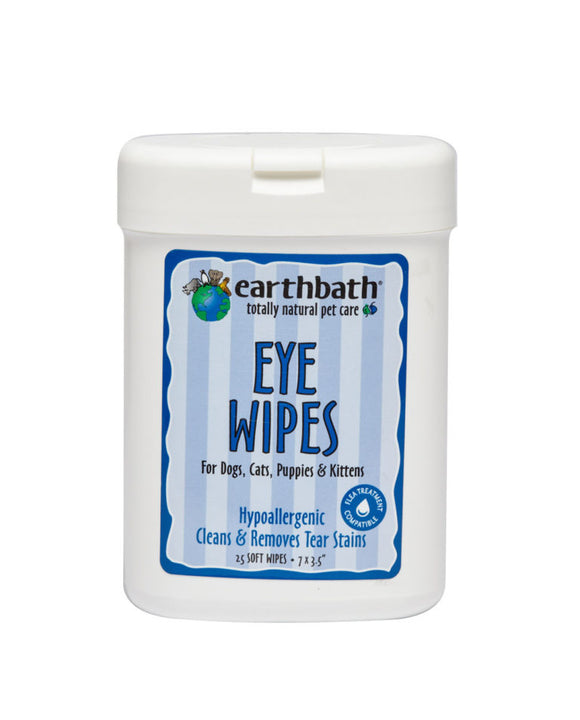 Specialty Eye Wipes for Dogs & Cats, 25 count