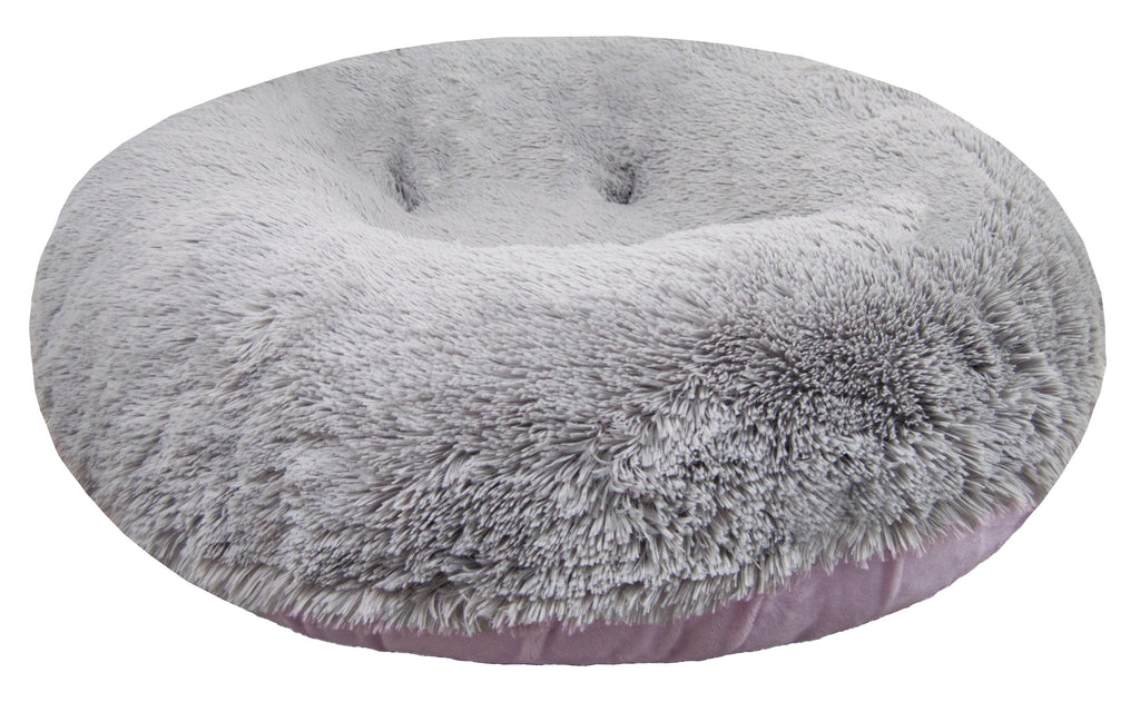 Bagel Bed - Siberian Grey and Lilac - Rocky & Maggie's Pet Boutique and Salon