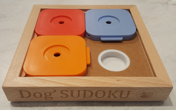 Dog Sudoku Medium Basic - Color
