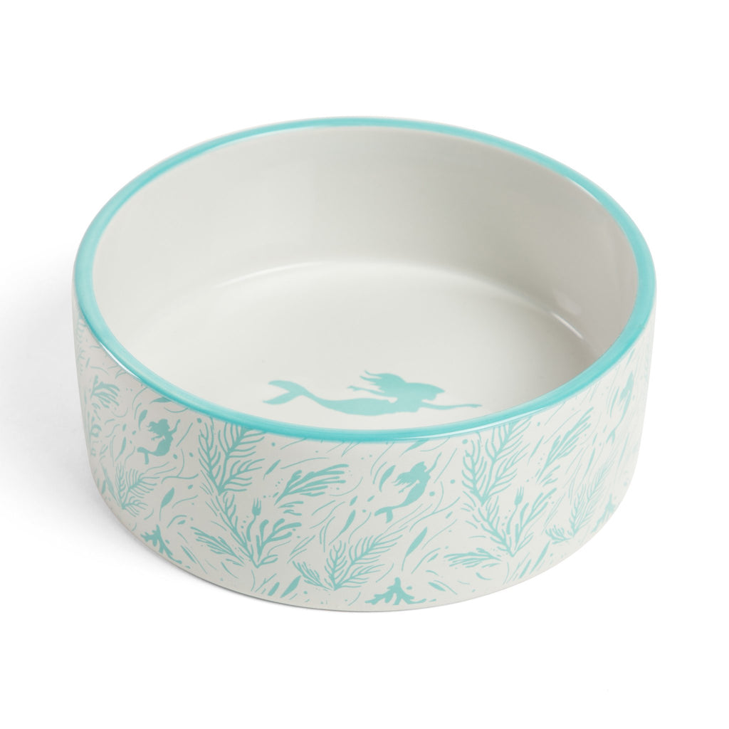 Little Mermaid Dog Bowl, Ariel's Coral