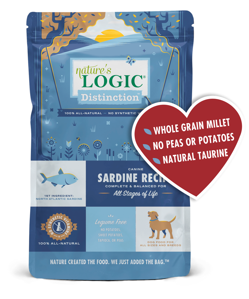 Nature's Logic Distinction Sardine Recipe, 24#