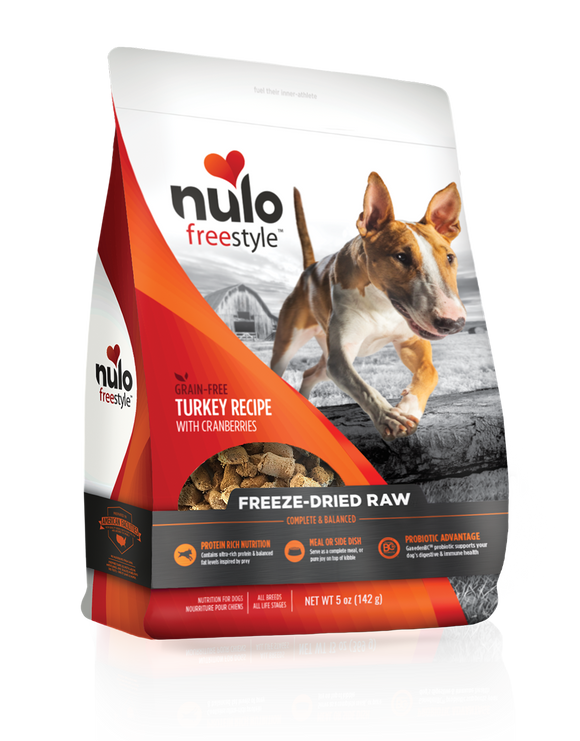 Freestyle Dog Turkey Freeze Dried Raw