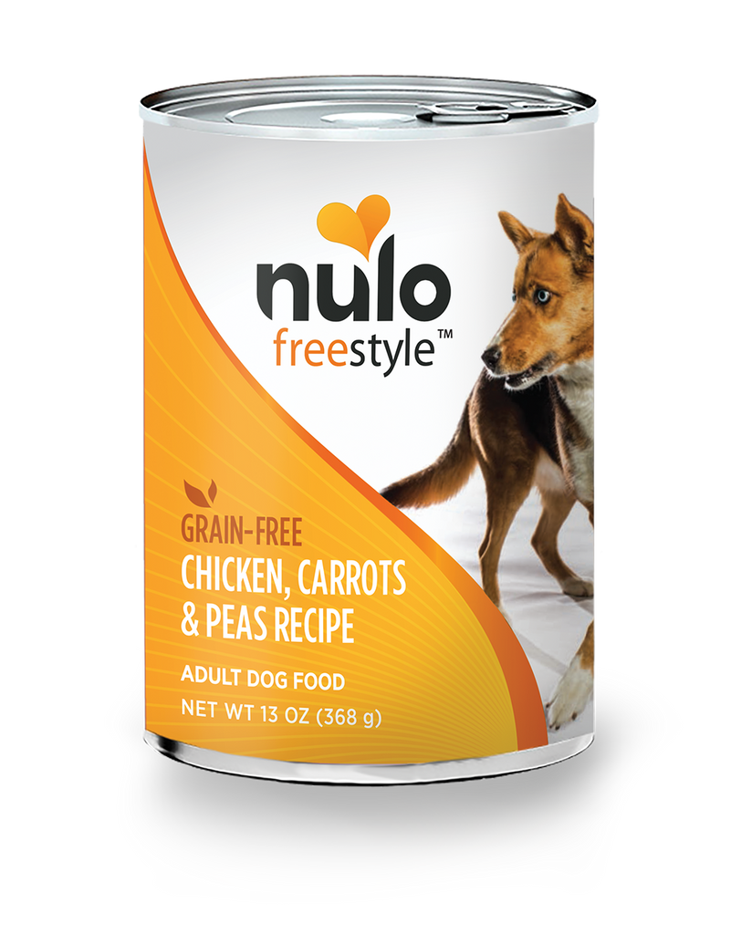 Freestyle Dog Chicken, Carrots, & Peas 13oz