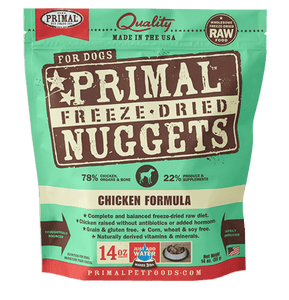 Chicken Formula Nuggets Grain-Free Raw Freeze-Dried Dog Food - Rocky & Maggie's Pet Boutique and Salon
