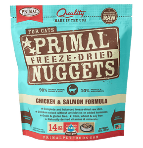 Chicken & Salmon Formula Nuggets Grain-Free Raw Freeze-Dried Cat Food - Rocky & Maggie's Pet Boutique and Salon