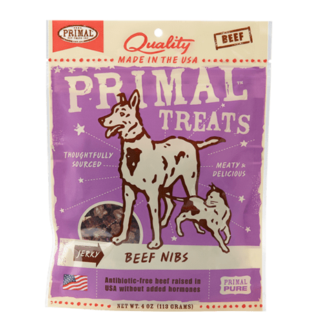 Beef Nibs Jerky Dog & Cat Treats, 4oz - Rocky & Maggie's Pet Boutique and Salon