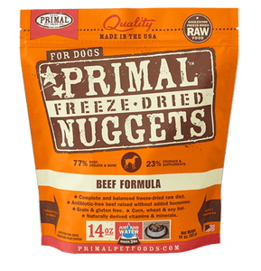 Beef Formula Nuggets Grain-Free Raw Freeze-Dried Dog Food - Rocky & Maggie's Pet Boutique and Salon