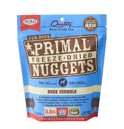 Duck Formula Nuggets Grain-Free Raw Freeze-Dried Dog Food - Rocky & Maggie's Pet Boutique and Salon