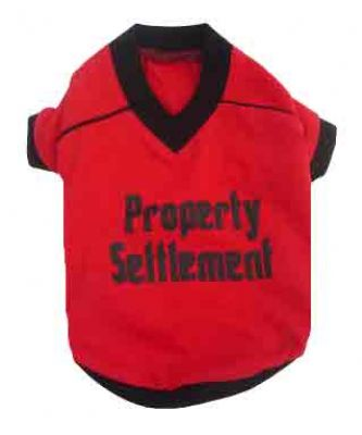 Property Settlement T Shirt