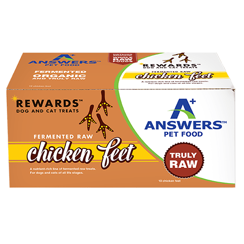 Answer's Rewards Fermented Raw Chicken Feet