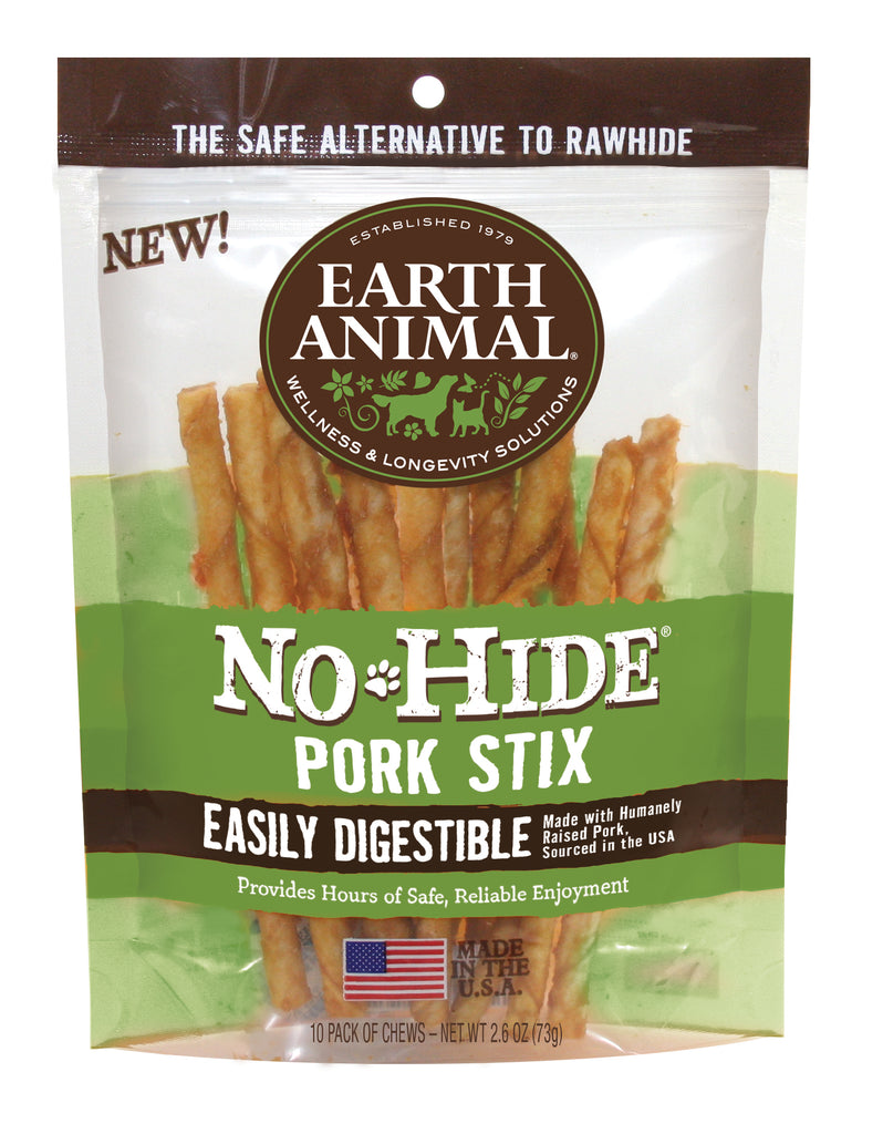 No-Hide Pork Stix, 10/pack