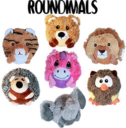 Roundimal Squeaky Dog Toy