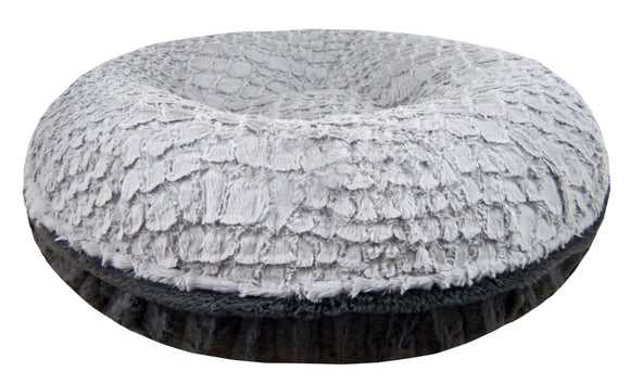 Bagel Bed - Siberian Grey and Gravel Stone