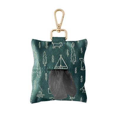 Camping Canvas Waste Bag Keychain