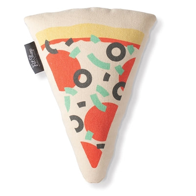 Pizza Canvas Dog Toy