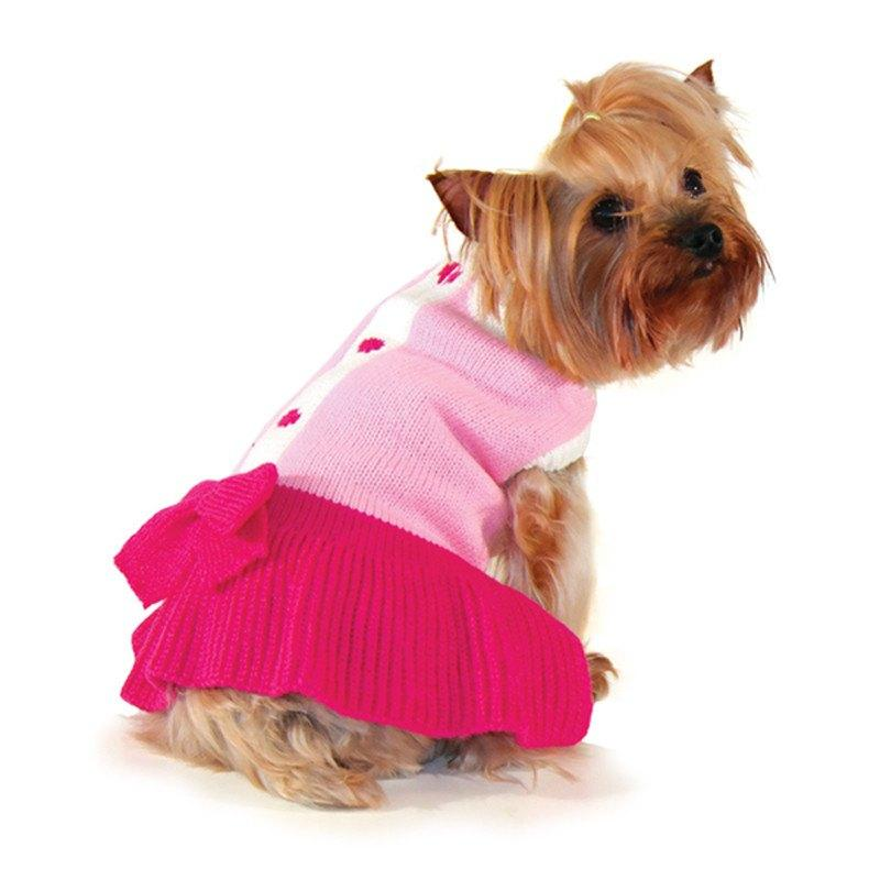 Cute Lady Sweater Dress - Rocky & Maggie's Pet Boutique and Salon