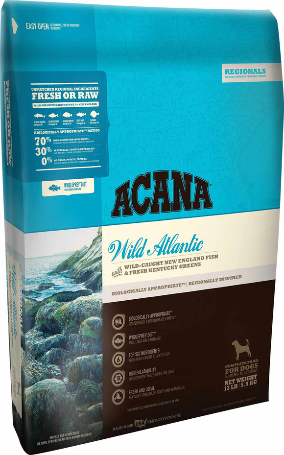 Acana Wild Atlantic Dog Food - Rocky & Maggie's Pet Boutique and Salon