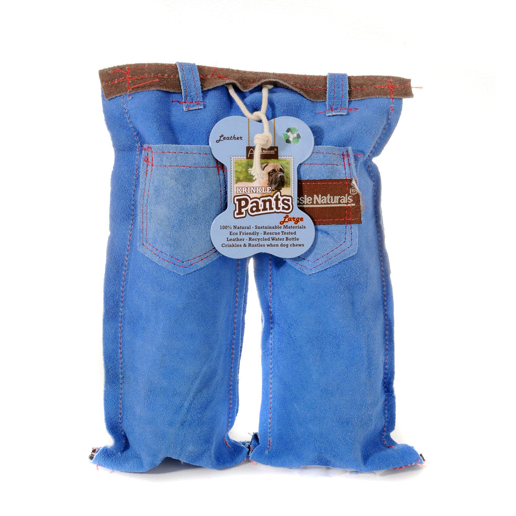 Krinkle Pants Leather Toy