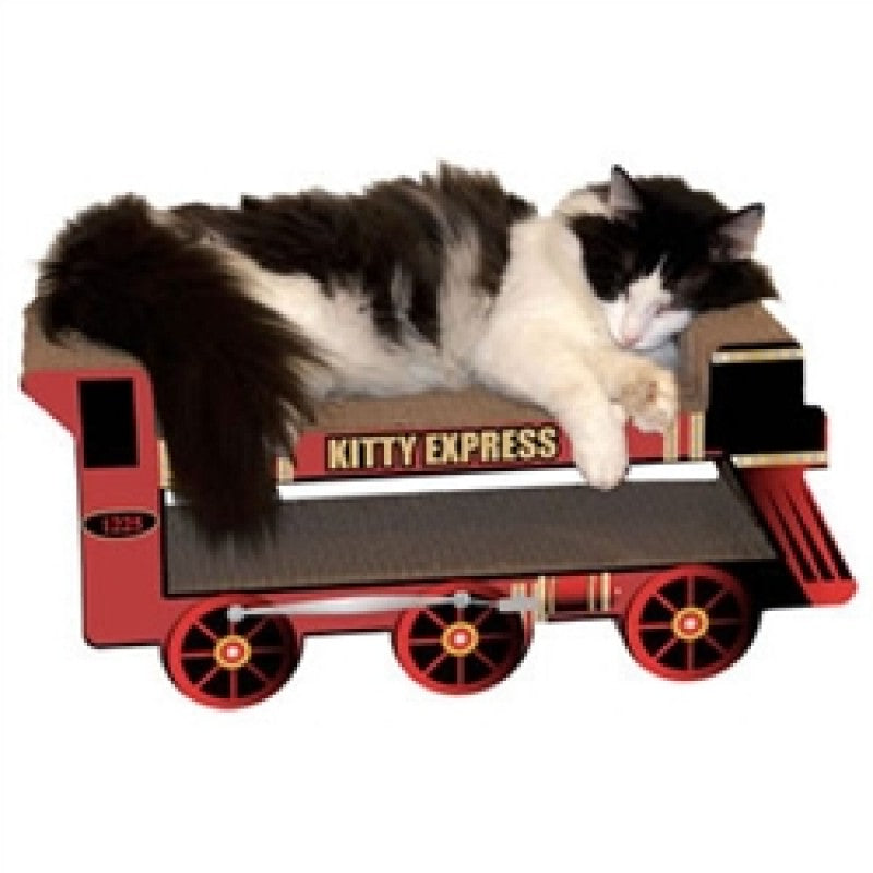 Kitty Express Scratch and Shape