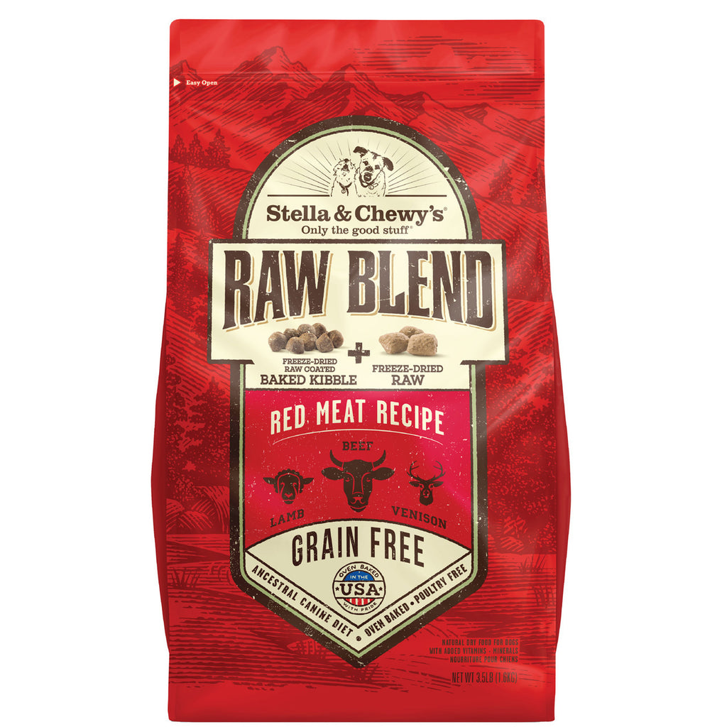 Red Meat Recipe Raw Blend Baked Kibble
