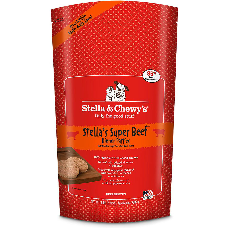Stella's Super Beef Frozen Dinner Patties