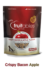 Crispy Bacon & Apple Crunchy treats, 7oz - Rocky & Maggie's Pet Boutique and Salon