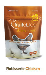 Skinny Minis Rotisserie Chicken Soft & Chewy Dog Treats, 5oz