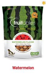 Skinny Minis Watermelon Soft & Chewy Dog Treats, 5oz