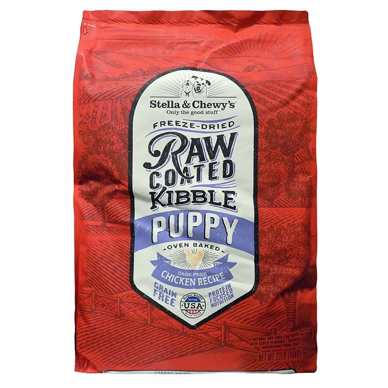 Cage-Free Chicken Recipe Raw Coated Baked Kibble for Puppies - Rocky & Maggie's Pet Boutique and Salon