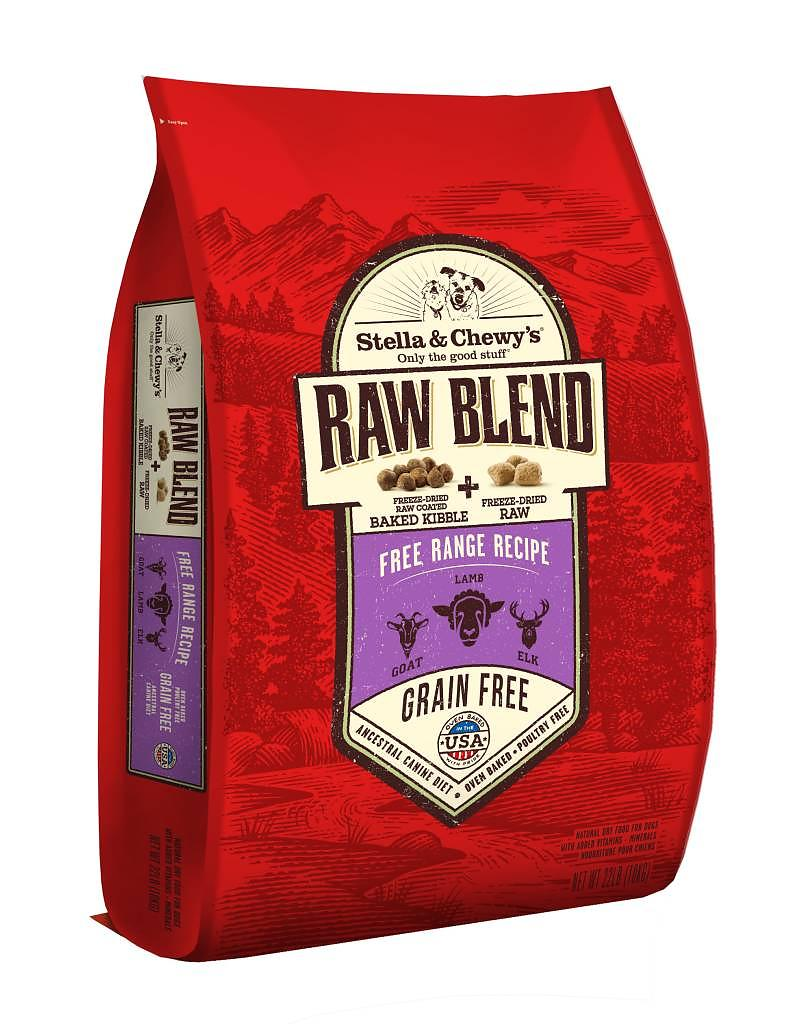 Free Range Recipe Raw Blend Baked Kibble