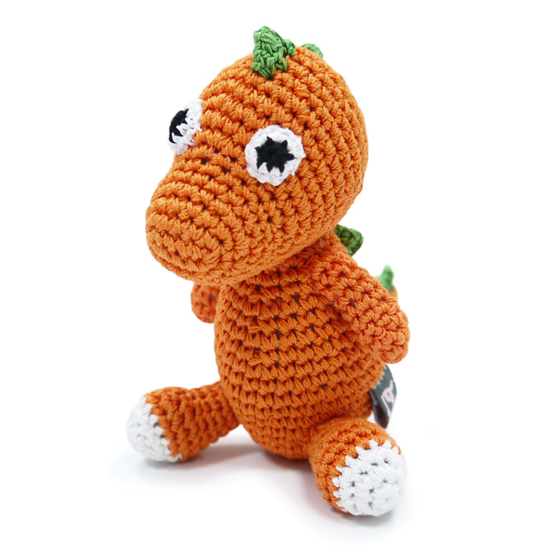 Dinosaur Knit Toy - Rocky & Maggie's Pet Boutique and Salon