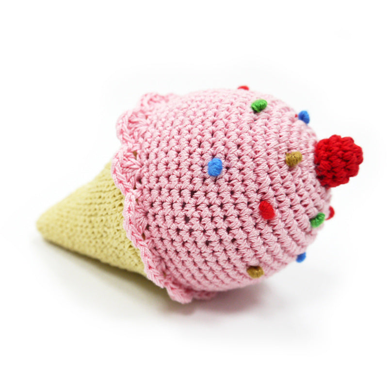 Ice Cream Knit Toy