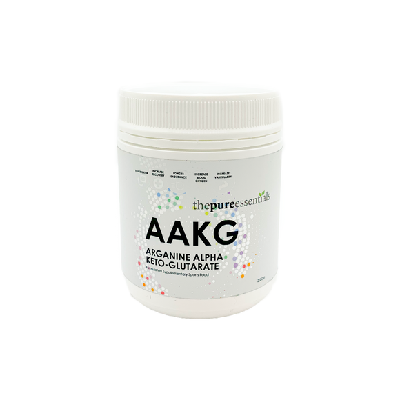 The Pure Essentials - AAKG (Arginine Alpha-ketoglutarate)