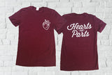 Hearts Not Parts t-shirt