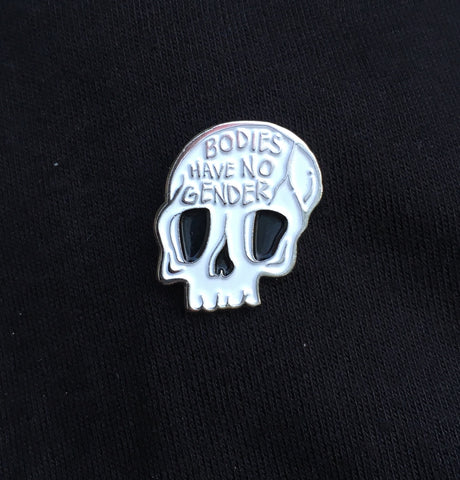 Bodies Have No Gender enamel pin