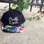 Pretty Queer floral snapback