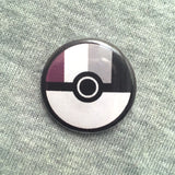 Poké Pride button or magnet