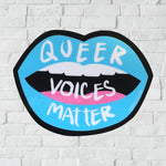 Queer Voices Matter sticker