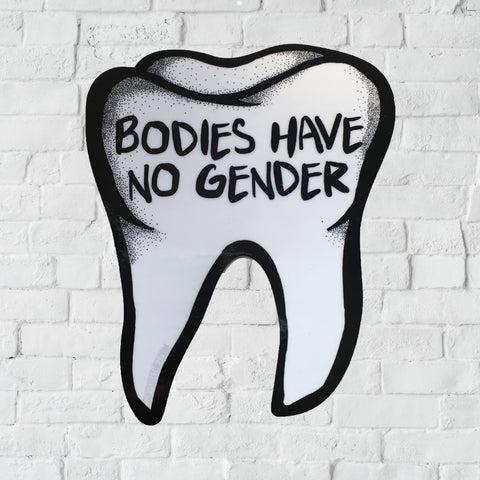 Bodies Have No Gender sticker