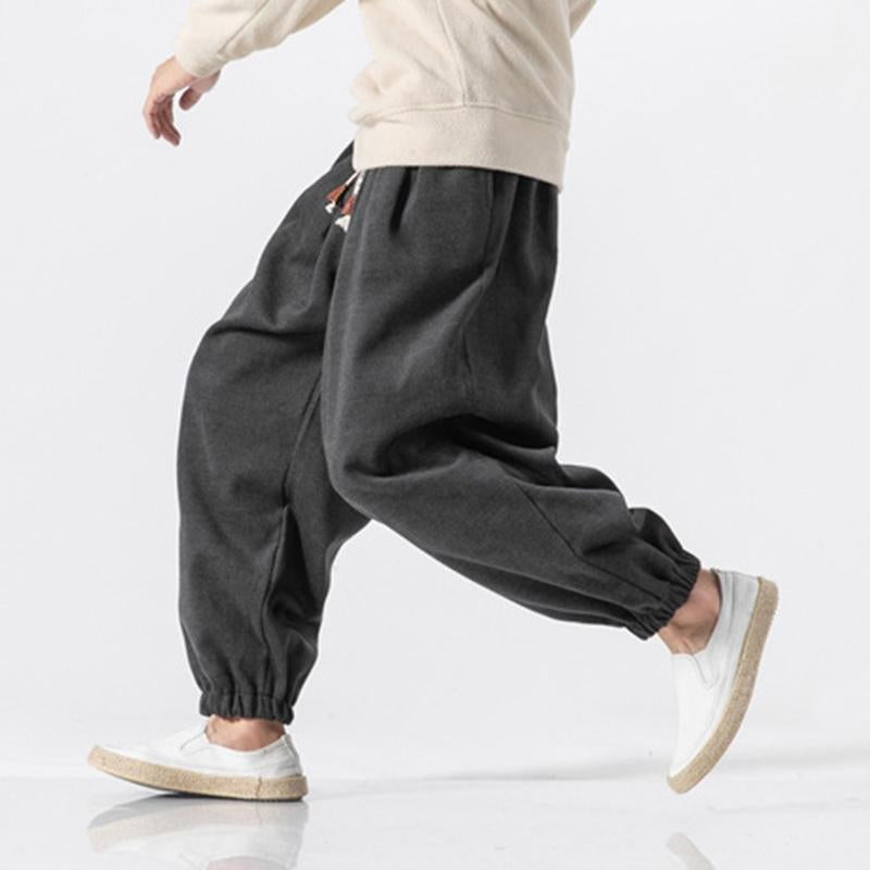 Japanese Thick Warm Loose Trouser